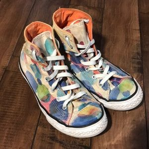 Converse all star high tops sneakers